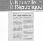 La Nouvelle République - 31.05.2010