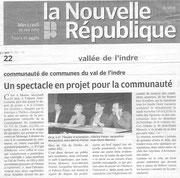 La Nouvelle République - 26.05.2010