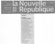 La Nouvelle République - 14.06.2010