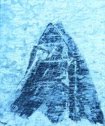 """In Memoriam Max Hall """"Matterhorn"""" Acryl auf Holzplatte                               >>> sold"""