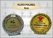 """PLATO POLIRES. CHICO"" ART-N° 1071"