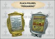 """PLAQ. POLIRES. PERGAMINO."" ART-N° 1055"