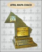 """""""MAPA DEL CHACO POLIRES. CHICO"""" ART-N° 1082"""