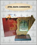 """MAPA CORRIENTES POLIRES. MEDIANO"" ART-N° 1089"