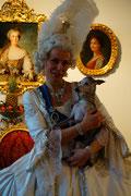 Das gibt es nur hier.......Katharina die Große auf einem Foto mit Mata Hari.