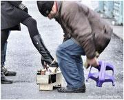 cireur de chaussures, un métier qui perdure en Turquie !