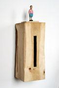 Kiste 8 (Junge), Pappelholz, Farbe, 2013