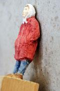 Wandlehnerin 1, Fichte, Farbe, 2013
