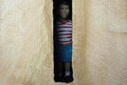 Kiste 8 (Junge), Pappelholz, Farbe, 2012