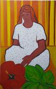 Liebe,  Acrylfarbe a. Leinwand,  210 x 150 cm,  2008