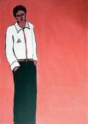 Dandy,   Acrylfarbe a. Leinwand,  210 x 150 cm,  2007
