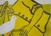 Amore,  Acrylfarbe a. Leinwand,  50 x 70 cm,  2011