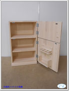 冷蔵庫スタイル収納 ホワイト 2014-10