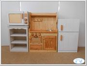 木製おままごとシステムキッチン オリジナル仕様 2014-06