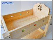 2段ベッド おもちゃ箱