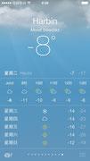 Silvesterwetter in Harbin 2013
