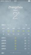 Silvesterwetter in Zhangzhou 2013