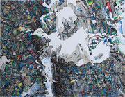 WITHOUT 2016 Acry auf Leinwand 70 x 90 cm