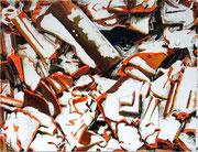 BROCKEN ROOF 2015 Acryl auf Leinwand 70 x 90 cm