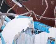 ICE CUBE 2017 Acryl auf Leinwand 70 x 90 cm