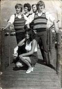 Les Eclairs uit Halsteren met hun jonge zangeres Mirella Jacobs ca. 1968