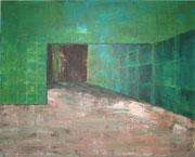 Zwischendeck / Acryl auf Baumwollgewebe / 100 x 80