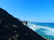 Entlang der einsamen Atlantikküste