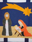 Josef und Maria mit dem Jesuskind