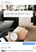 Gewinnspiel Instagram für Uhrtracht