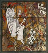 1-02.  Камин «Ангел» (библиотечный). фрагмент 1.