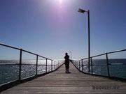 Der Steg an der Bucht von Ceduna