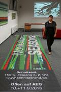 Eröffnung Monika Humm Seasons bei Schnitzer& am 08.09.2016  Foto: Rainer Humm