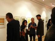 Ausstellungsansicht: monika Humm traces & transitions