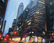 """""""Stand up""""- - acrylique sur toile (24x19 cm), Sylvie Lavenac Bouliet"""