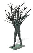 """""""L'arbre en marche"""" sculpture en bronze, JP Douziech"""