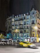 """""""Intersection II""""- acrylique sur toile (116x89 cm), Sylvie Lavenac Bouliet"""