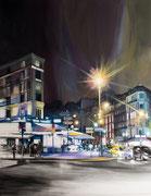 """""""Intersection I""""- acrylique sur toile (116x89 cm), Sylvie Lavenac Bouliet"""