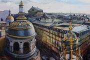 Vue du printemps- acrylique sur toile (60x80 cm), Sylvie Lavenac Bouliet