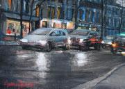 """""""18h avenue Denfert-Rochereau""""- (22x16 cm) Sylvie Lavenac Bouliet"""