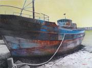 Après le déluge- acrylique sur toile (97x130 cm), Sylvie Lavenac Bouliet