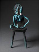 """""""Méduse abyssale chaise""""- Série Les mangeurs de chaises, céramique- CAPRI"""