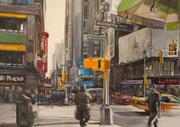"""""""6th Avenue""""- acrylique sur toile (73x100 cm), Sylvie Lavenac Bouliet"""