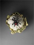 """""""Araignée-choux-fleurs""""- Capri, sculpture céramique / Crédit photographique Thomas Deschamps"""