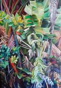 Oxygène- acrylique sur toile (92x65 cm), Sylvie Lavenac Bouliet