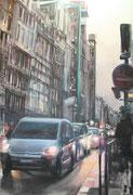 """""""C'était demain""""- acrylique sur toile- (92x65 cm), Sylvie Lavenac Bouliet"""