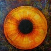 Un Atajo al Alma - Serie Juicios y Prejuicios Acrílico sobre lienzo 80 x 80 cm