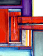El Martillo de Vulcano - Mixta sobre lienzo  93 x 73 cms