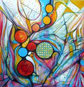 Camino Sin Fin - Acrílico sobre lienzo  100 x 100