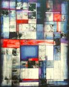 Crónica Negra - Acrílico sobre lienzo 93 x 73 cms