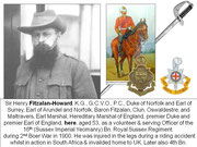 FITZALAN-HOWARD Duke of Norfolk